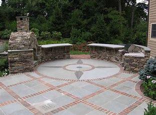 stone patios and brick patios