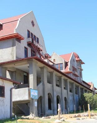 Boulder Hot Springs facade and entrance