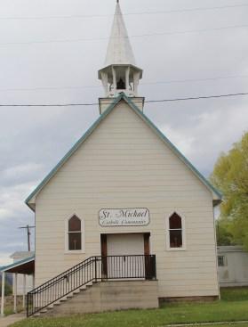 Granite Co, St. Michael Catholic, Main St, Drummond