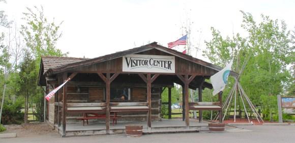 Lake Co Ronan visitor center