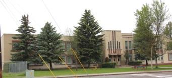Flathead Co Columbia Falls New Deal school
