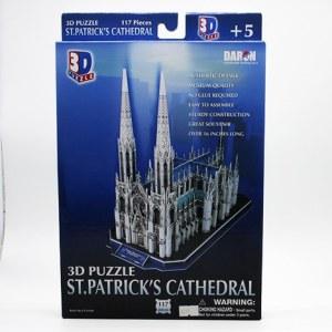3D Puzzle St. Patrick´s Cathedral / Rompecabezas