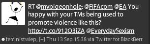 EA and FIFA linked to social media responses