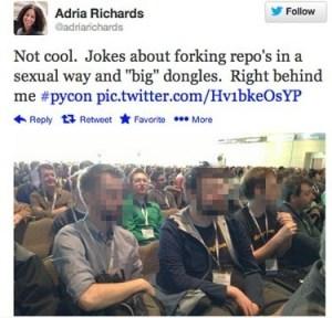 Adria Richards Tweet