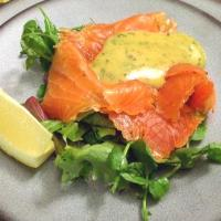 """Cured Salmon """"Gravlax"""" and Mustard Sauce """"Hovmästarsås"""""""