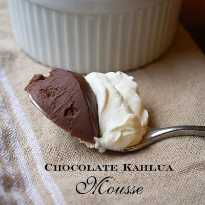 Chocolate Kahlua Mousse