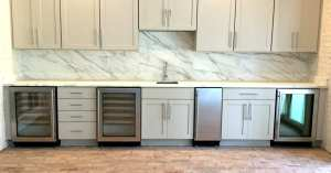 marble kitchen counter tops