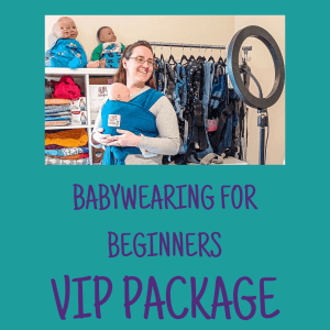 VIP Babywearing for Beginners course