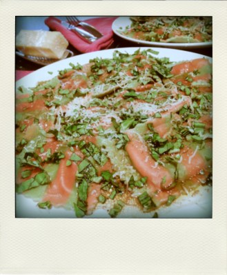...sundried tomato and artichoke ravioli
