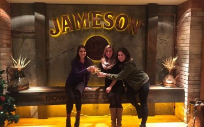 The First Two Distillations Make it Whiskey, the THIRD makes it JAMESON