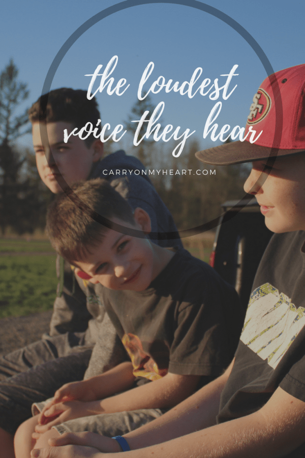 How to be the Loudest Voice our Kids Hear