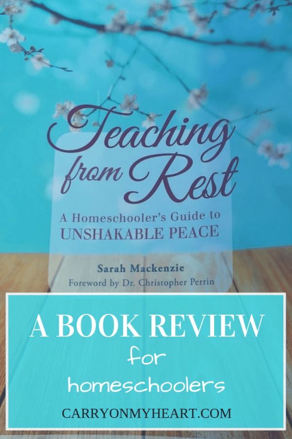 Teaching From Rest—A Book Review