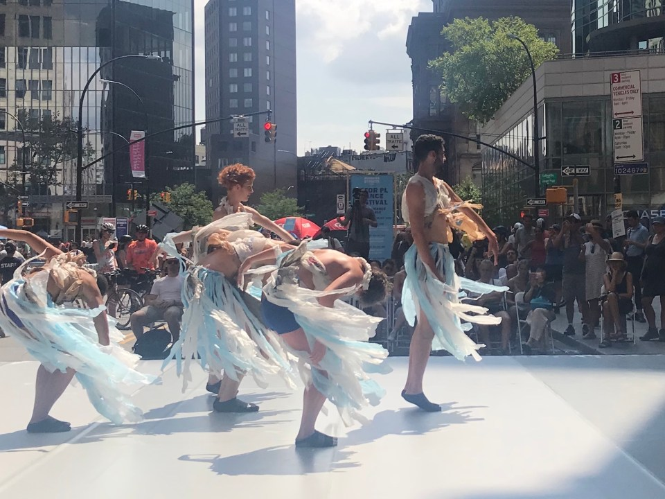 Artichoke Dance at Summer Streets