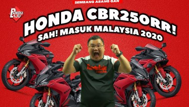 Photo of HONDA CBR250RR 2020, Masuk Malaysia Tahun Ini!!