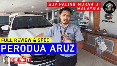 Photo of REVIEW PERODUA ARUZ 1.5 X | SUV PALING MURAH !