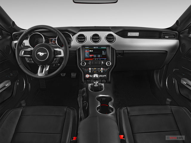 2015 Ford Mustang Pictures  Dashboard   U S  News   World Report 2015 Ford Mustang  Dashboard