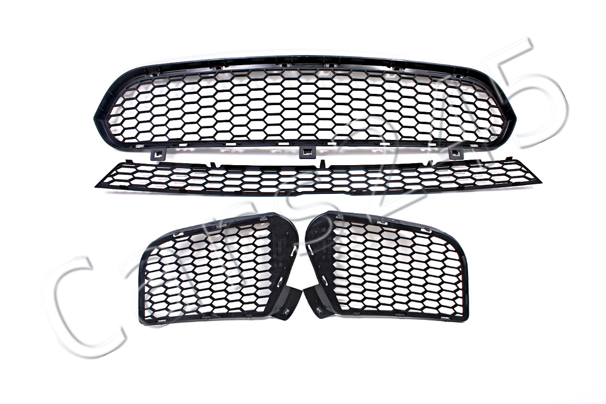 Genuine Front Bumper Grilles Full Set 4pcs Bmw X5 E70 X6