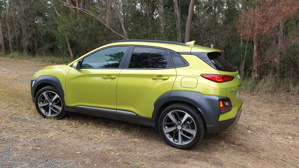 hyundai - 2019 Kona Highlander rear profile - Hyundai Kona: keep looking Aunty Joan