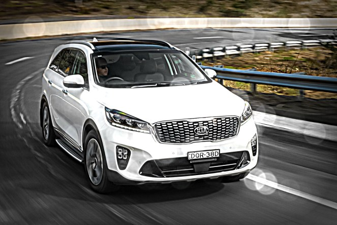 kia - Kia Sorento GT feature - Kia Sorento: it's runout time