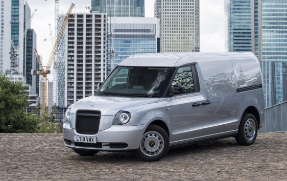 van - LEVC electric LCV 01 - First the taxi, now the electric van
