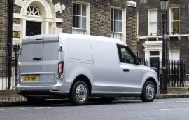 van - LEVC electric LCV 02 - First the taxi, now the electric van