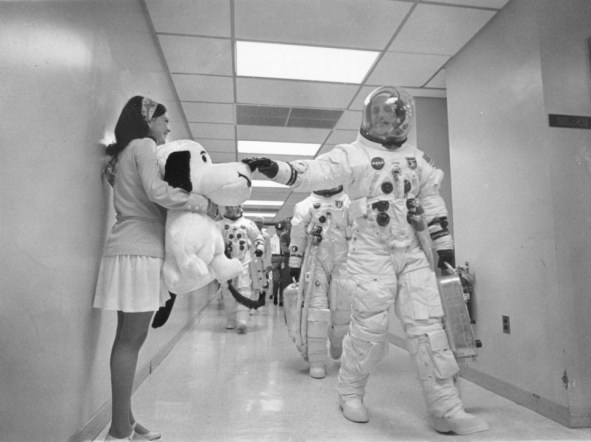 snoopy - apollo 10 Stafford and Snoopy - Snoopy Reunited with Charlie Brown?