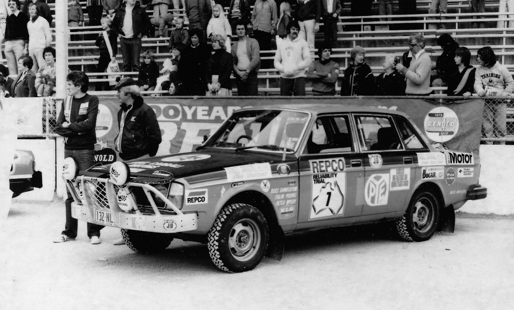 repco - Repco Volvo 244 01 - 40 years and 337 gates later Peter McKay relives Repco madness