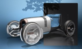 vision - Vision Mercedes Simplex 08 - Vision pays homage to first modern car