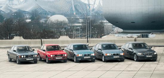 BMW_3_series-generations-auto-sales-statistics-Europe