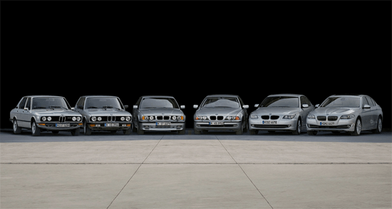 BMW_5_series-generations-auto-sales-statistics-Europe