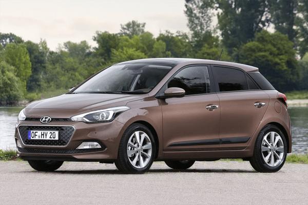 Hyundai I20 2015 Auto Sales Statistics Europe