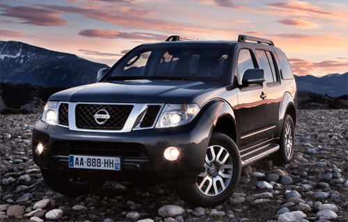 Auto Sales Europe Data: Nissan Pathfinder European Sales Figures