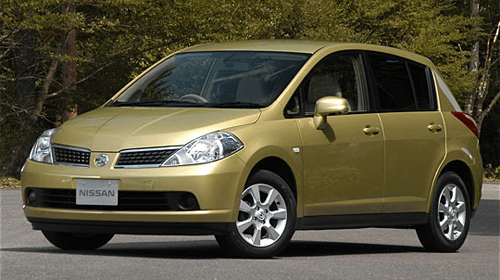 Nissan Tiida European sales figures