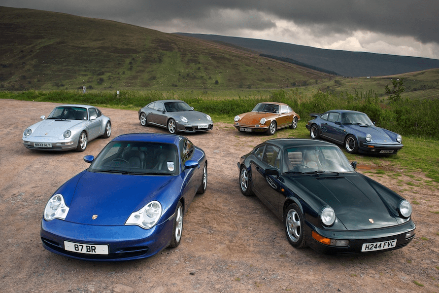 Auto Sales Europe Data: Porsche 911 European Sales Figures