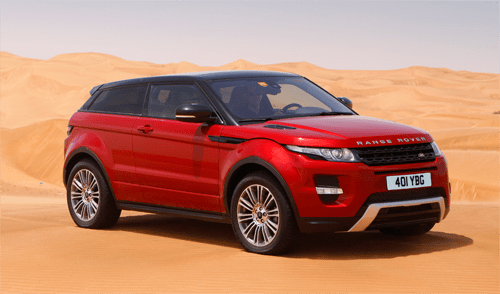 Range Rover Evoque European Sales Figures