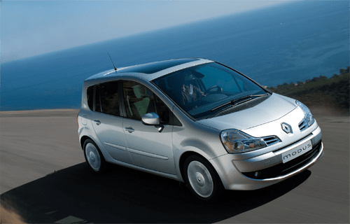 Auto Sales Europe Data: Renault Modus And Grand Modus European Sales Figures