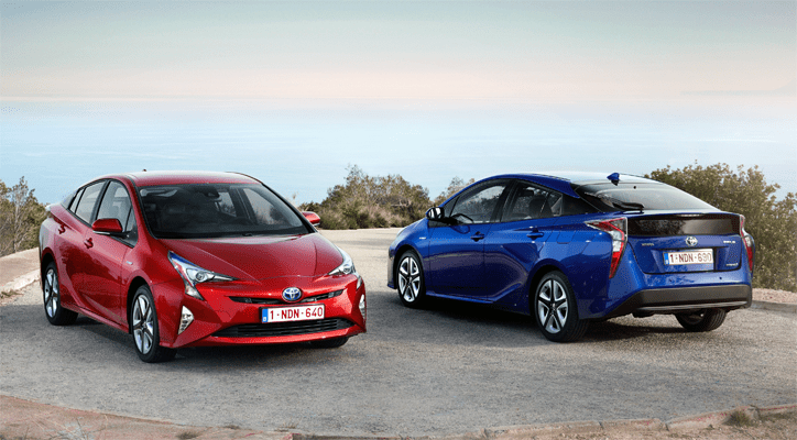 Auto Sales Europe Data: Toyota Prius European Sales Figures
