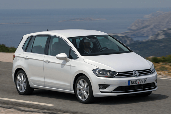 Volkswagen Golf Sportsvan European Sales Figures