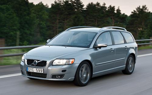 Volvo V50 European sales figures