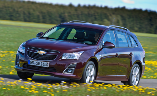 Chevrolet-Cruze-auto-sales-statistics-Europe