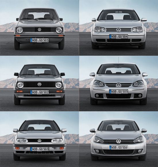 Cars Volkswagen Volkswagen Golf: Volkswagen Golf European Sales Figures