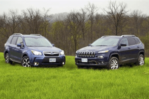European-car-sales-statistics-midsized-crossover-segment-2014-Jeep_Cherokee-Subaru_Forester