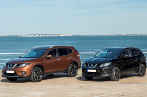 European-car-sales-statistics-midsized-crossover-segment-2014-Nissan_Qashqai-X_Trail