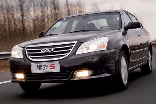 Chery Cowin 5 China Auto Sales Figures