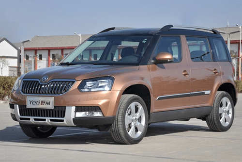 Skoda Yeti China Auto Sales Figures