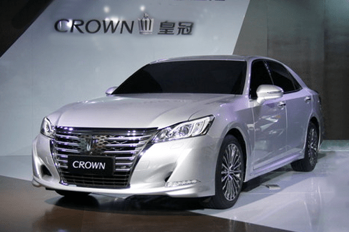 Auto Sales Data Today: Toyota Crown China Auto Sales Figures