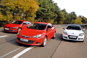 European-sales-coupe-segment-2015-Vauxhall_Astra_GTC-Renault_Megane_Coupe-VW_Scirocco