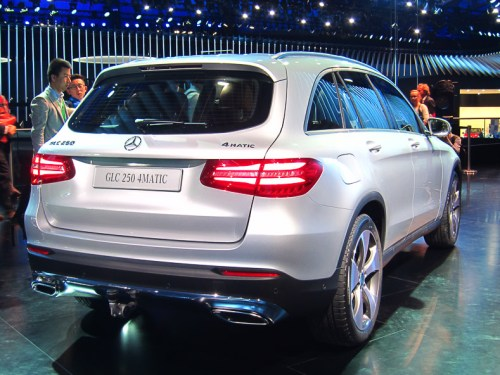 Mercedes-Benz GLC rear