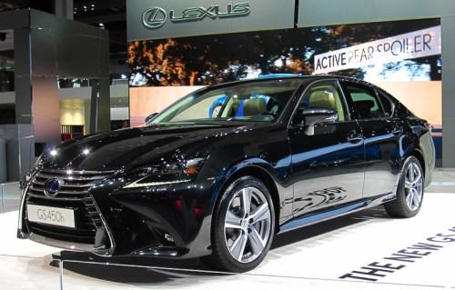Lexus GS 450h facelift