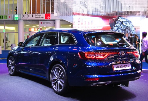 Renault Talisman Estate rear